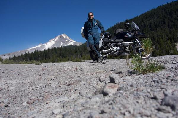 Me, Isabelle and Mt. Hood