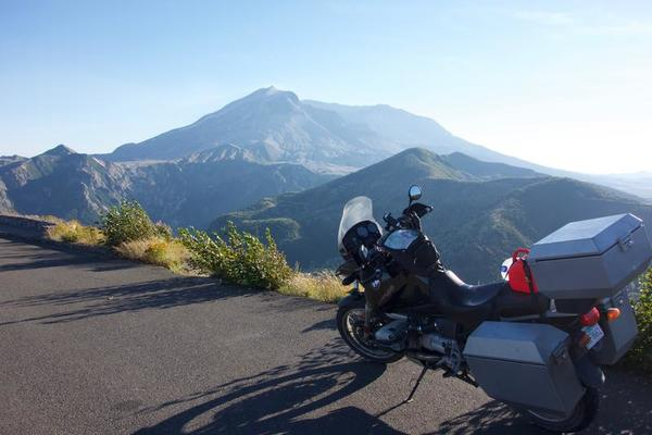 Isabelle and Mt. St. Helens