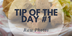 This article describes the settings that are necessary to enable RAW photos. That way you can have full control over how your photos look post-processing.