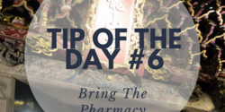 Bring these important medications to keep your trip comfortable.