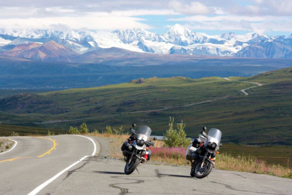 An example picture brought to you by Gregg, it is of the mountains lining the eastern portion of the Denali Highway.