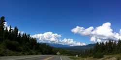 Day 4: Things get even more beautiful as wel progress into Yukon Territory along the ALCAN.