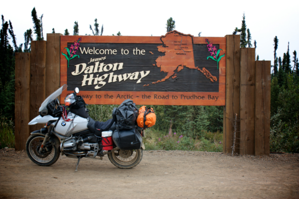 Dalton Highway Sign