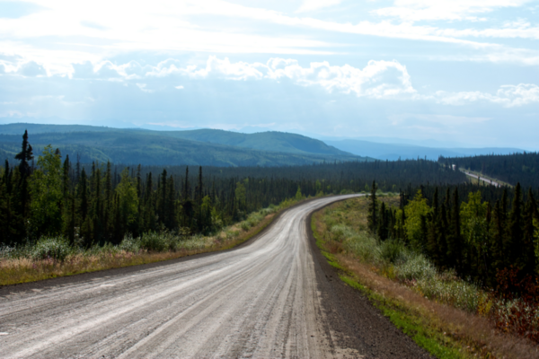 Dalton Highway Twists and Turns