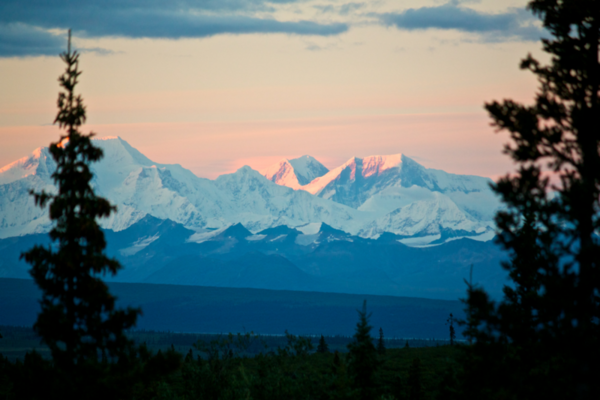 Denali Highway Mountain Views