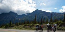 Day 8: We ride our motorcycles from the Arctic Circle to the The Denali Highway.