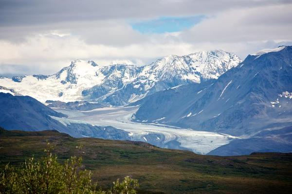 Denali Mountains and Glaciers