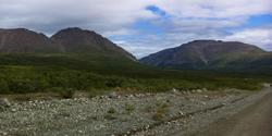 Day 9: We ride down long gravel roads in Kennicott Alaska not knowing whether we'll be in a ditch moments later.
