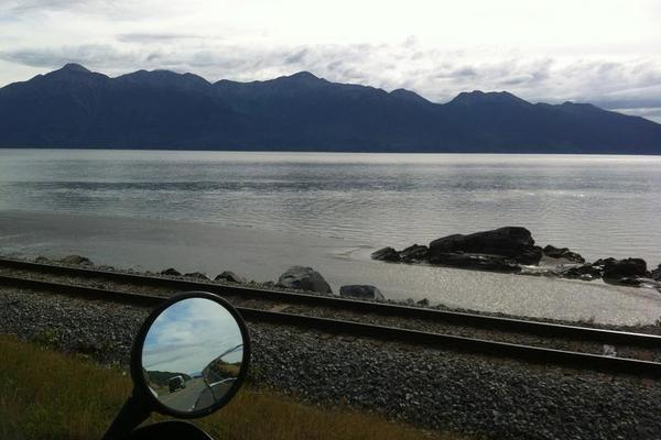 Turnagain Arm and Mountains