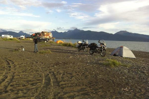 Homer Spit Camping