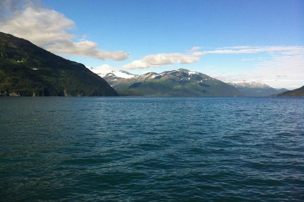 The Whittier Passage Canal, Whittier Alaska