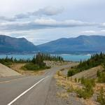 Alaska Highway Riding East Before Haines Junction