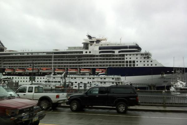 Cruise Ships in Ketchikan Alaska
