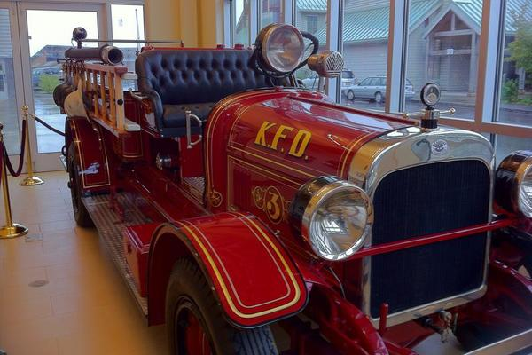 Restored Engine - Ketchikan Fire Department, Alaska