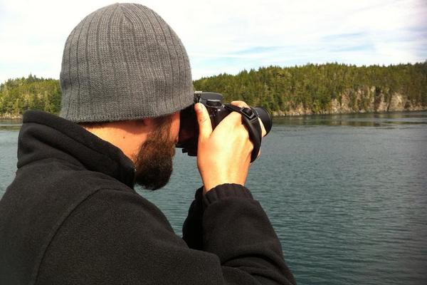 Gregg getting a picture. -- Alaska Marine Highway